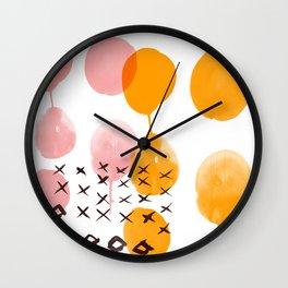 Melting Pot 1 Wall Clock