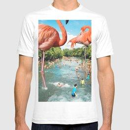 Flamingo Shore T-shirt