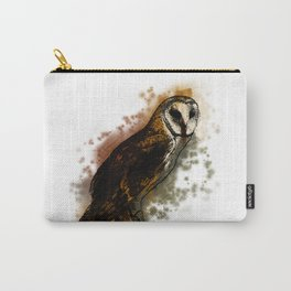 the owl looked up to the stars above Carry-All Pouch