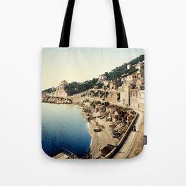 Beach at Marseille, France, ca. 1895 Tote Bag