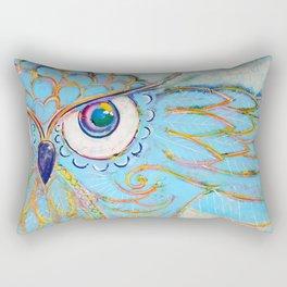 Owl - Colour Me Happy Rectangular Pillow
