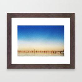 infinite melancholy Framed Art Print