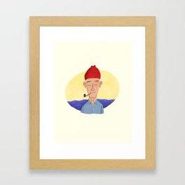 mr. Cousteau Framed Art Print