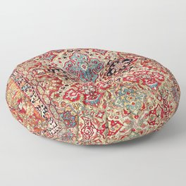 Esfahan Central Persian Rug Print Floor Pillow