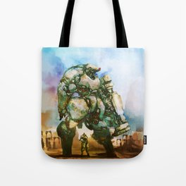 Beauty and the Thirty Ton Beast Tote Bag