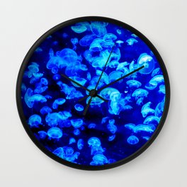 Jellies Wall Clock