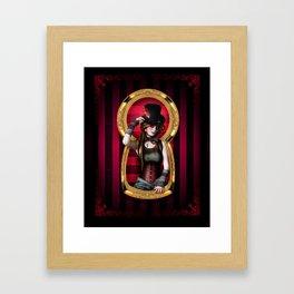 I am the key Framed Art Print