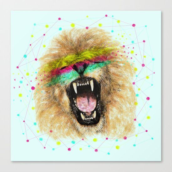 Lion II Canvas Print