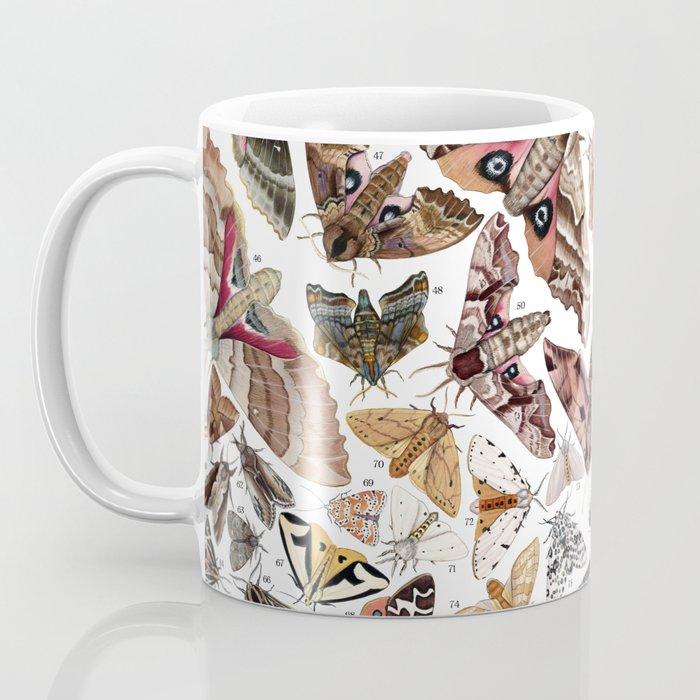 Moths of North America Coffee Mug