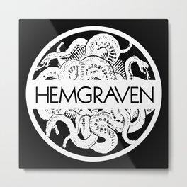 Hemgraven snake logo Metal Print