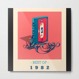 Best Of 1982 - Birthday Gift Metal Print