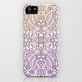 Decorative Pattern 2 iPhone Case