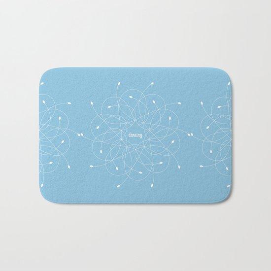 Ornament – dancing Bath Mat