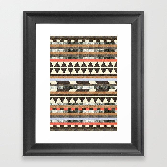 DG Aztec No.1 Framed Art Print