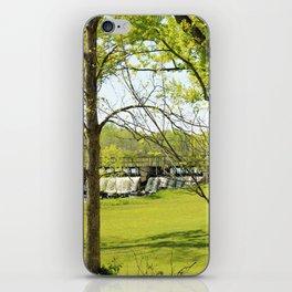 hidden dam iPhone Skin