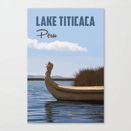 Lake Titicaca Canvas Print