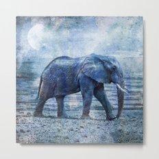 The Elephants Journey Metal Print