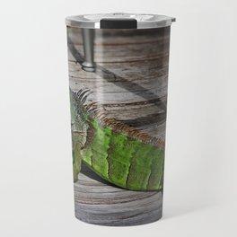 Cayman Iguana I Travel Mug