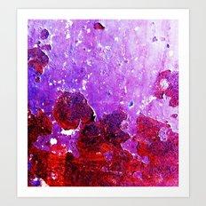 GrapeFlakes Art Print