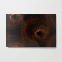 Seamless Background Fractal Metal Print