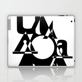 All A's Font Laptop & iPad Skin