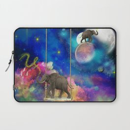 Space elephants Laptop Sleeve