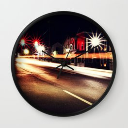 Illuminate the Streets Wall Clock