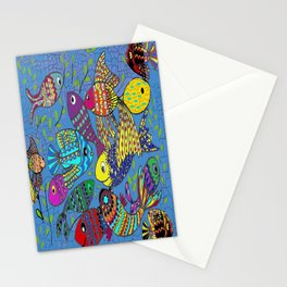 Beautiful Fish Stationery Cards