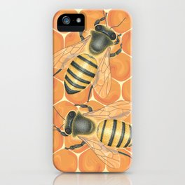 Honeybees iPhone Case