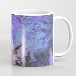 Sweetness 0009- Iridescent Fluid Painting Coffee Mug