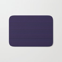 Gothic purple stripes Bath Mat