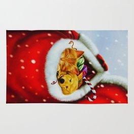 In Santa's Sack Rug