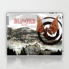 Spiral Dragon over Poenari Castle Laptop & iPad Skin