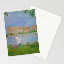 Habitat of Snowy Egret Stationery Cards