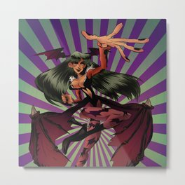 Morrigan Aensland Metal Print