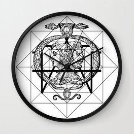 Hermetica Moderna - The Sight of Janus Wall Clock