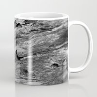 wooden Mugs featuring Wooden by North to South
