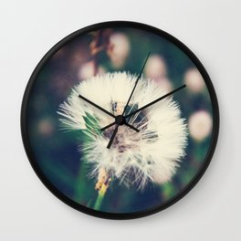 Lazy Summer Wall Clock