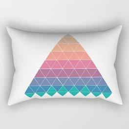 Sunset Mountain Rectangular Pillow
