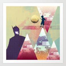 |NEW HEROE(S) DECAY| Art Print