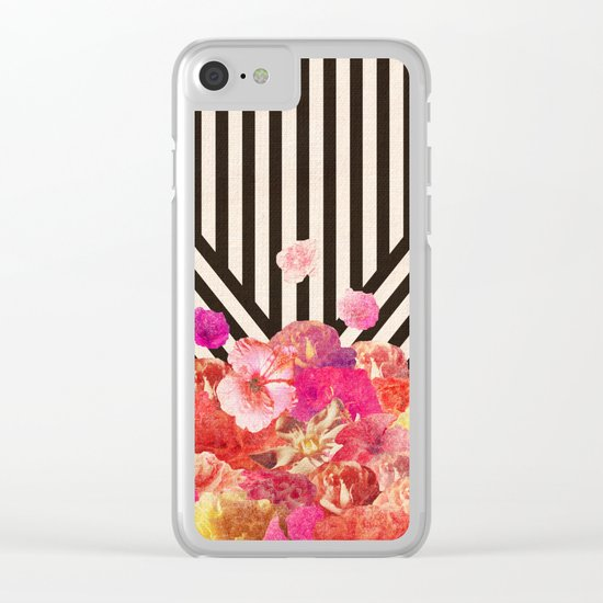 Floraline Clear iPhone Case