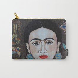 Frida thoughts Carry-All Pouch