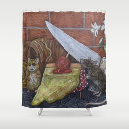 Roditori Italiani Shower Curtain