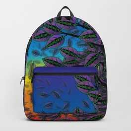 Dusk in The Forest of Glass Backpack