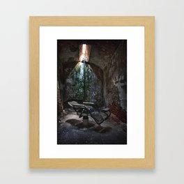 The Recliner Framed Art Print