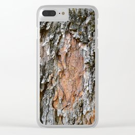 Southern bark Clear iPhone Case