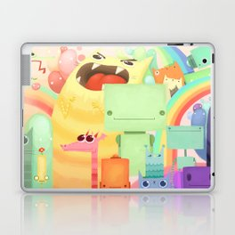 Who the What Laptop & iPad Skin