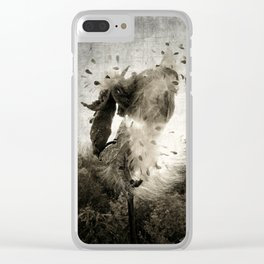 ecology {no.3 Clear iPhone Case