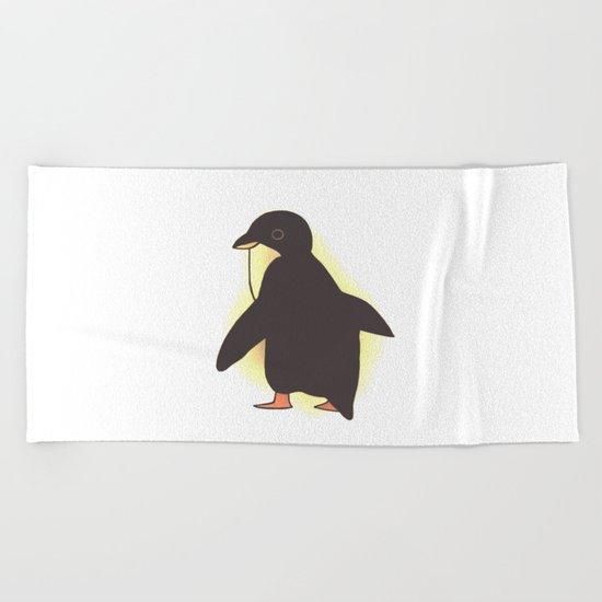 penguin-54 Beach Towel