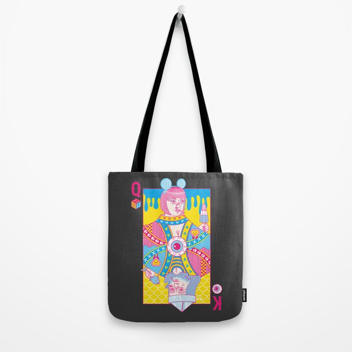 Queen Of Nowhere, King Of Nothing Tote Bag